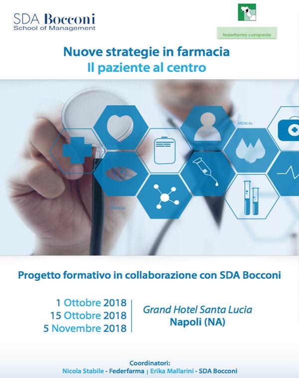 Nuove strategie in farmacia – Percorso Formativo SDA Bocconi rivolto ai farmacisti