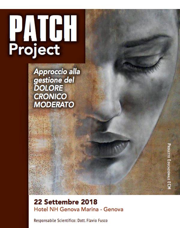 PATCH Project: Approccio alla gestione del DOLORE CRONICO MODERATO – 22 Settembre 2018 – Genova