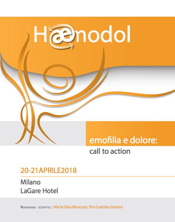 Emofilia e dolore: call to action – 20/21 Aprile 2018 – Milano